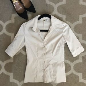 Dress shirt cream ivory